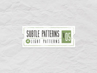 Subtle Light Tile Pattern Vol5 (Freebie)