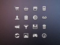 Tab Bar Icons iOS vol3