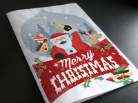 Free Christmas Card Invitation Template