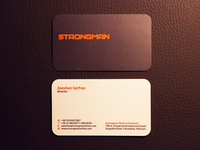 STRONGMAN Business Card