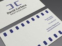 David Corbera Photography Business Card