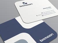 Bitmoon Business Card