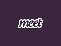 Meet : Social Networking Logo