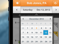 iPhone App Date Select