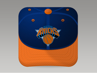 Knicks fan cap