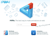 Pifffle coming soon page