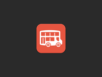 Bus app touch icon