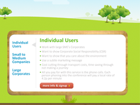 Green Themed Website