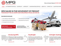 Logistics Company Website