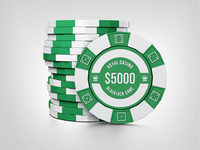Casino Chips Mock Up
