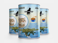 Cats Food Packaging Mock Up