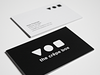 Crêpe Box Business Card