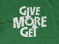 Give More / Get More / AAF District 7 2013-14