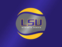 LSU Women's Tennis Logo
