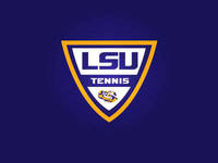 LSU Men's Tennis Logo
