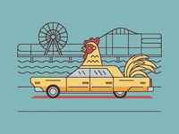 Chicken Car