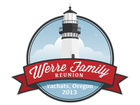 Werre Family Reunion Logo Small White