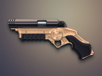 Dribbble Grapple Gun