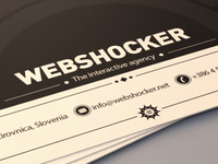 Webshocker business card concept