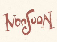 Ambigram for Non Juan