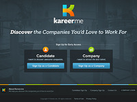 Kareer.me Landing Page is Live!