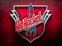 Kid Rocket 3d logo
