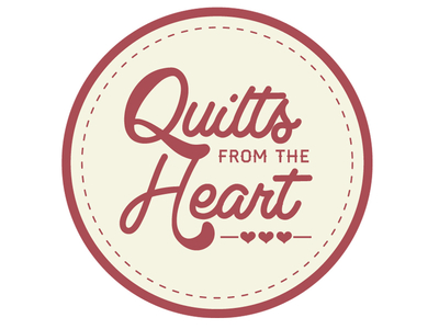 Quilts From The Heart logo