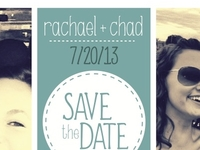 Save The Date-Rachael & Chad