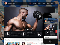 Power Gym - a new responsive template
