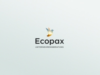 Ecopax desktop corporate design