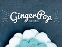 GingerPop Boutique Logo