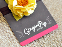 GingerPop Boutique Packaging
