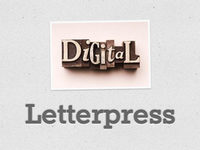 Digital Letterpress