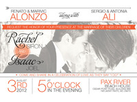 Wedding Invitations - Back