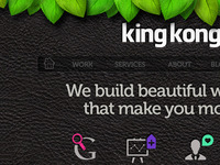 King Kong Website
