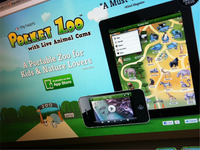 Pocket Zoo App Website