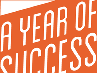 A Year of Success logo concept
