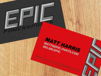 Epic Powersports Card