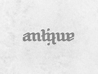 Antique Dribbble