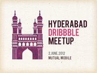 Hyderabad Dribbble Meetup