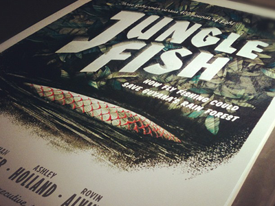Junglefish_screenprint