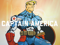 Captain America - Avengers Week