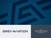 Grey Aviation Logo