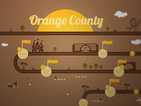 Orange County Map