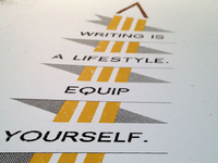 Writing is a Lifestyle - Art Print