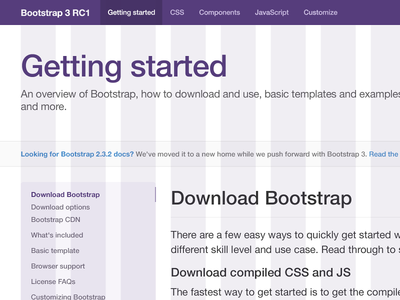 Download Twitter Bootstrap 3 PSD Freebie