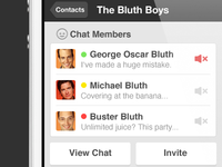 Bluth Chat
