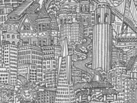 "Snippet of new repeating pattern ""San Francisco"""