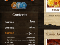 Bookmark Cookbook Navigation
