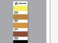 Pantone beer swatch redux